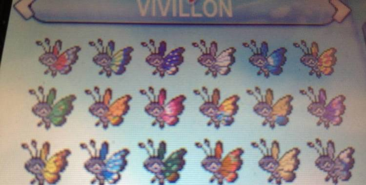 How To Complete Your Vivillon Collection