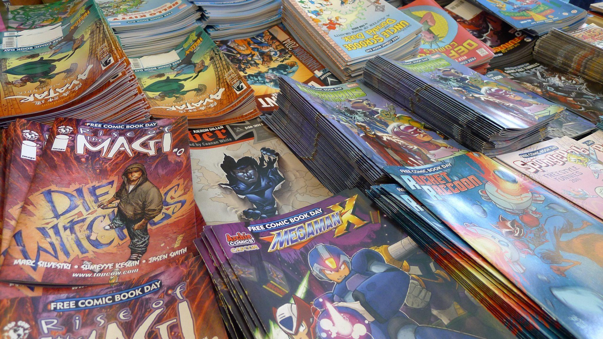 Nerdophiles Celebrates Free Comic Book Day 2014