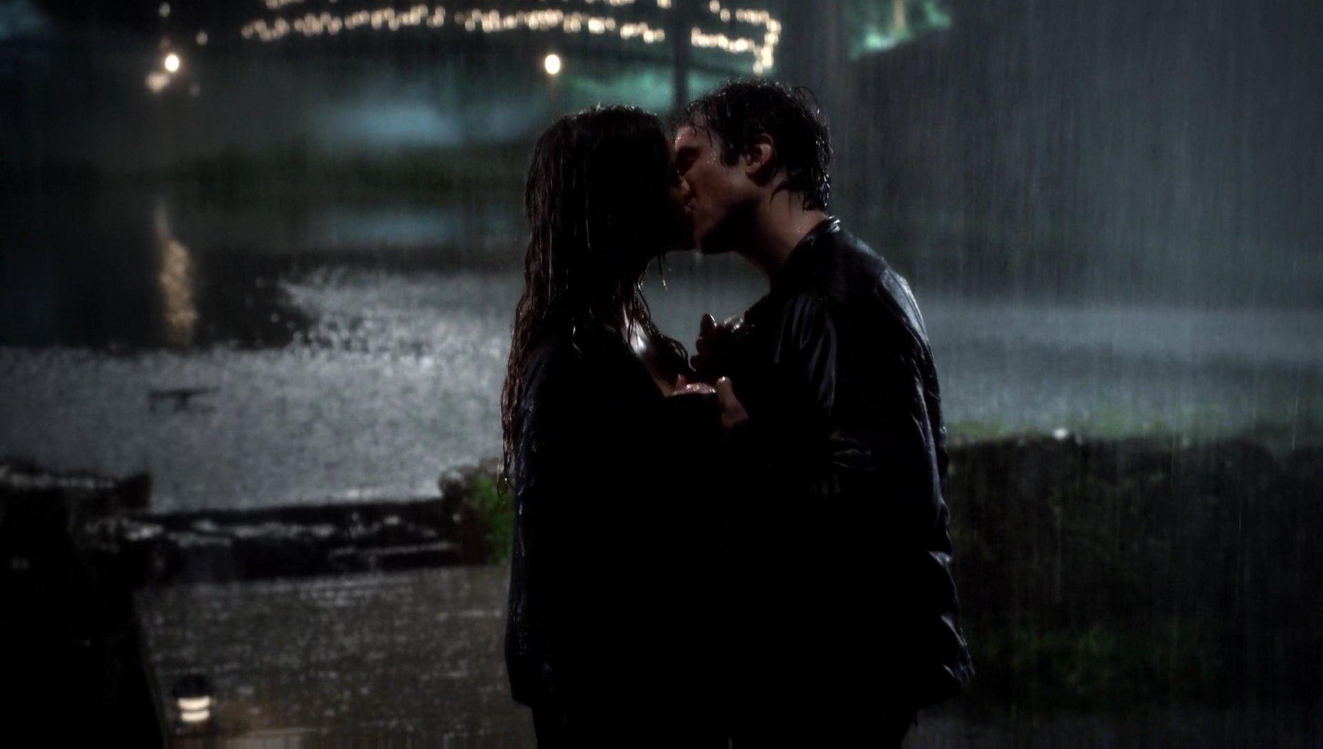 TVD Do You Remember the First Time? Recap: A Delena Rain
