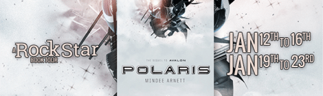 "Mindee Arnett Talks Writing, Science Fiction, and ""Polaris"" with Nerdophiles and Rockstar Book Tours!"