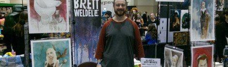 Cherry City Comic Con: Interviewing Brett Weldele about Life as an Artist