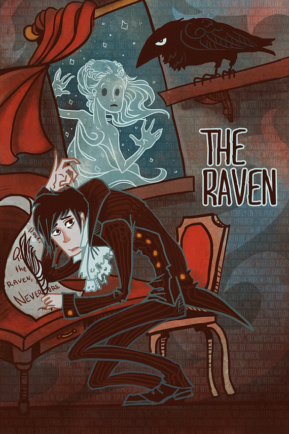 exploring the coherence of man in edgar allan poes the raven