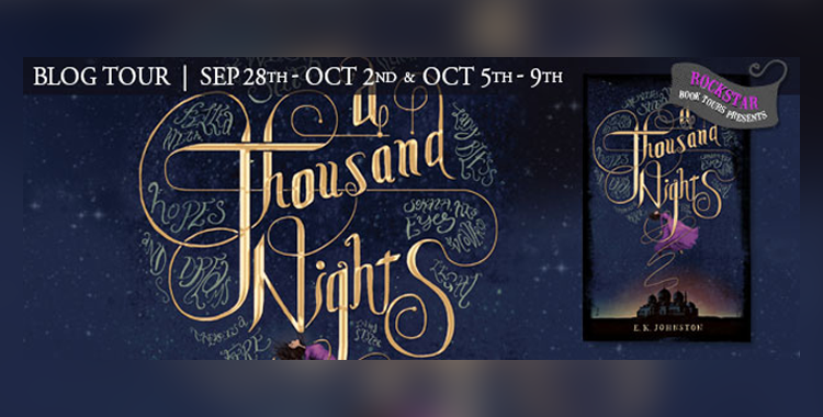 Rockstar Book Tours: A Thousand Nights Spotlight