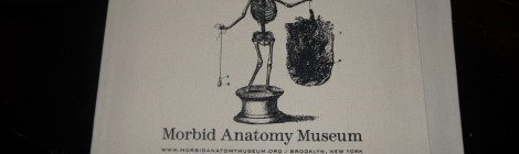 "Fannibals United at the Morbid Anatomy Museum in NYC for a ""Hannibal Lecter, Book Collector"" lecture"