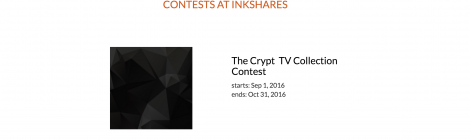 Inkshares Partners with CryptTV for Contest to Discover New Horror Writers