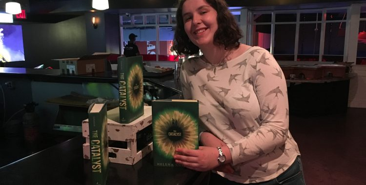 "Candlewick Press Celebrates the Release of First Time Author Helena Coggan's ""The Catalyst"" in NYC"