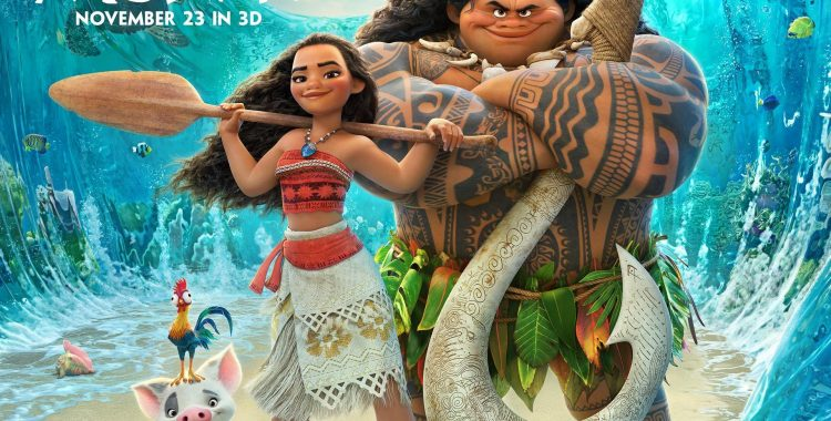 Moana: Disney's Latest Princess Film is a Splashy Success
