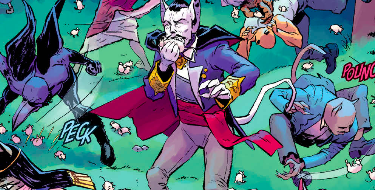 Angel Catbird Volume 2 Brings Deadly Cat Toys, Dracula, and Cat Fights!