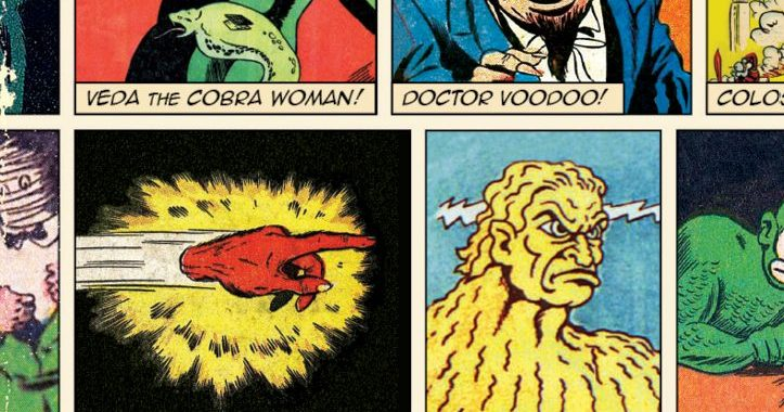 Every Superhero Needs A Villain - Even Those Fit to be Included in Jon Morris' 'The Legion of Regrettable Supervillains'