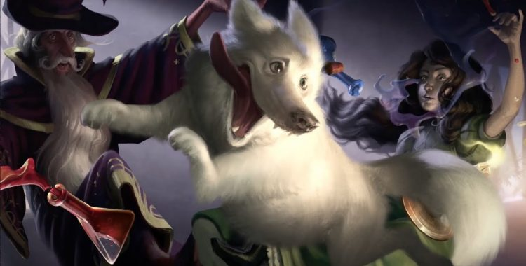 "Eric Kahn Gale's ""The Wizard's Dog"" is good fantasy for young readers"