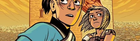 'The Stone Heart' is a Great Follow Up to 'The Nameless City,' One of Our Favorite Graphic Novels of 2016!