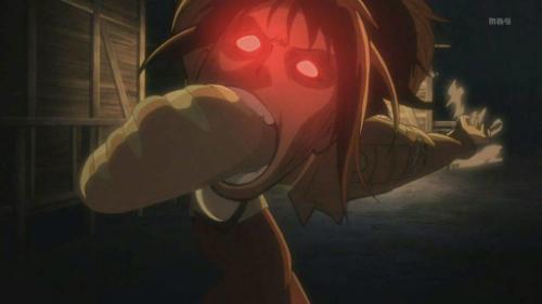Attack on Titan Sasha leaps voraciously for bread