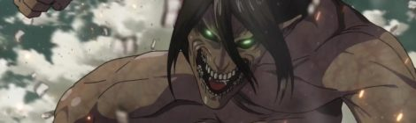 Attack on Titan Eren launches into attack