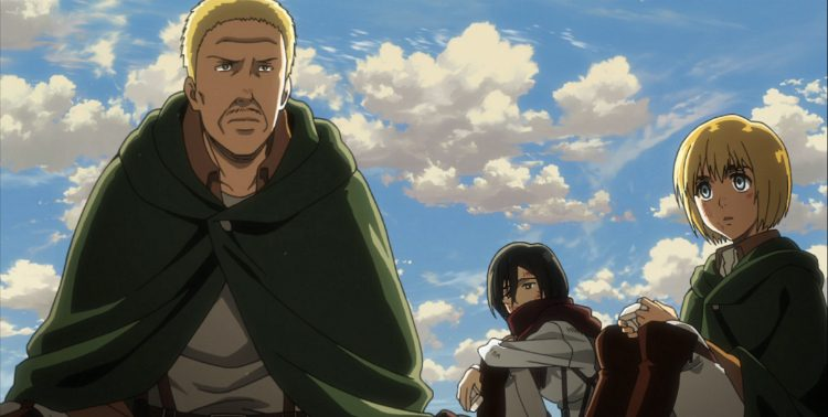 Attack on Titan Hannes reminisces