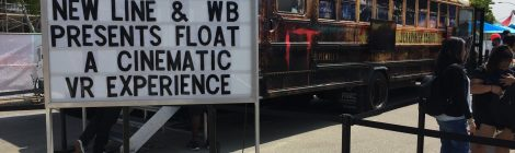 SDCC 2017: Experience the Terror of 'IT' With FLOAT: A Cinematic VR Experience
