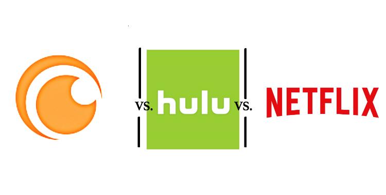 Where shoud you watch anime? Crunchyroll, Hulu or Netflix?