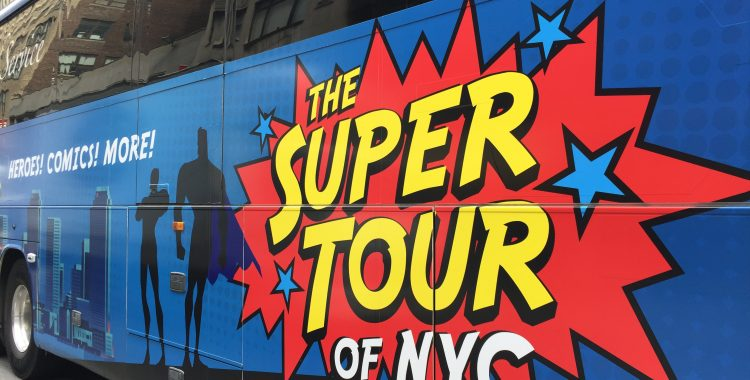 Superheroes Come to Life in New York City, Thanks to the Super Tour of NYC