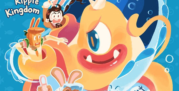 Cucumber and His Friends Are Back to Tackle The Nightmare Knight's Minions in Cucumber Quest: The Ripple Kingdom