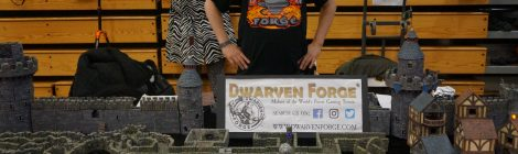 Fanfaire 2018: Stefan Pokorny of Dwarven Forge Talks D&D, Inspiration, and Future Projects