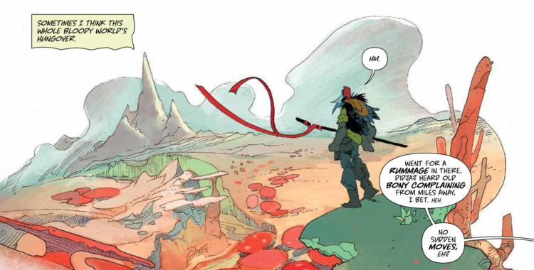 For the Perfect Melding of Post-Apocalyptic & Fantasy Settings, Pick up Coda #1!