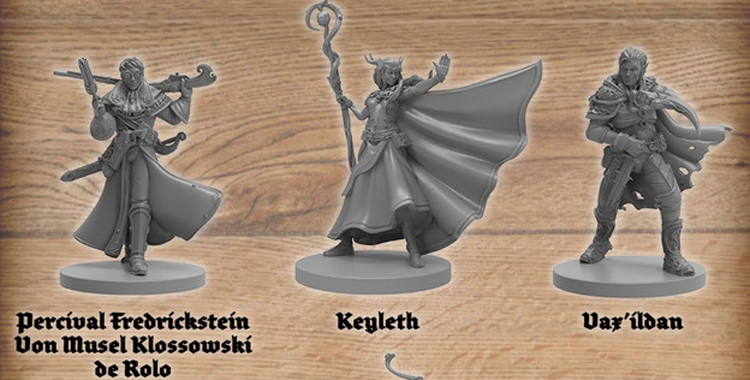 Kickstarter Watch: The Critical Role Minis are Here!