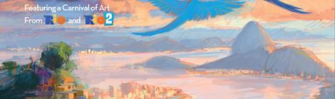 Titan Comics Gives Blu Sky Studio's Rio Films the Artbook Tribute they Deserve