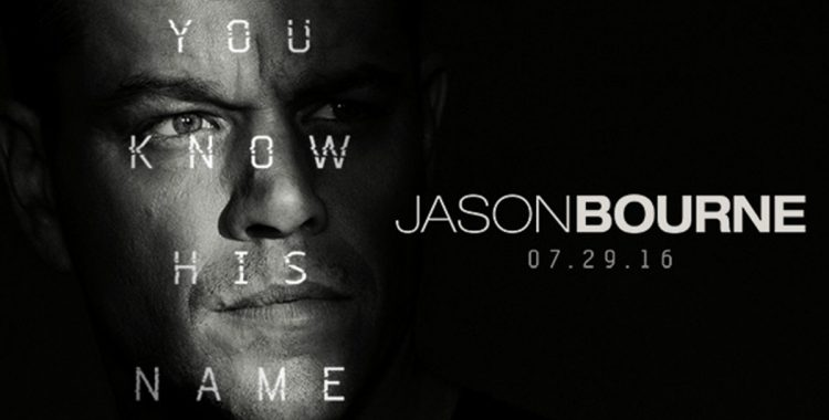 Chasin' Bour- I Mean Jason Bourne