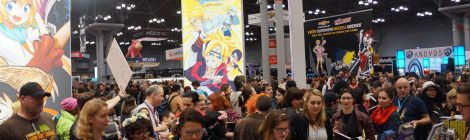 NYCC 2016: Fannibals created a sea of flower crowns for Titan Book's 'Feeding Hannibal' signing