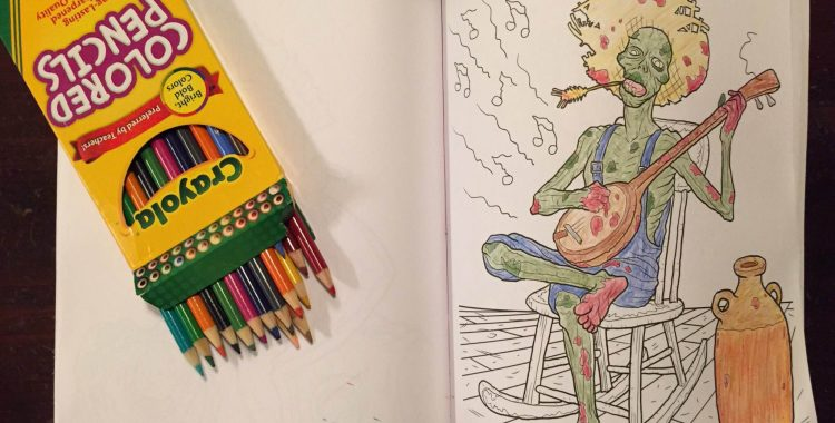 Crayola Enters The Coloring Book Arena With Art