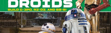 Star Wars Builders Make for Great Trivia and Fun Model Kits!