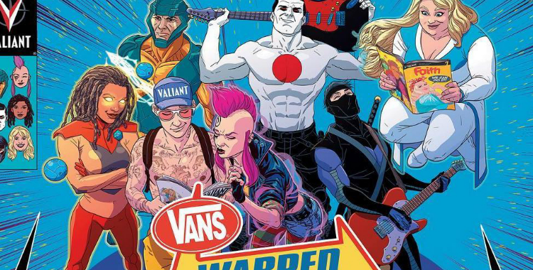 Comics and Music Collide at Vans Warped Tour