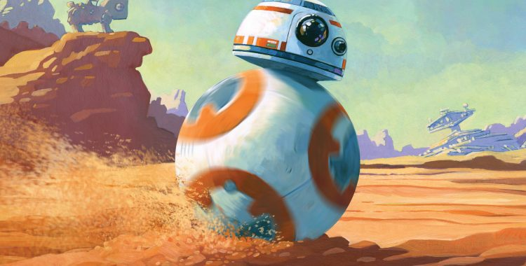 Rockstar Book Tours: The Journey to 'The Last Jedi' Begins With 'BB-8 on the Run' in Drew Daywalt's Latest Picture Book!
