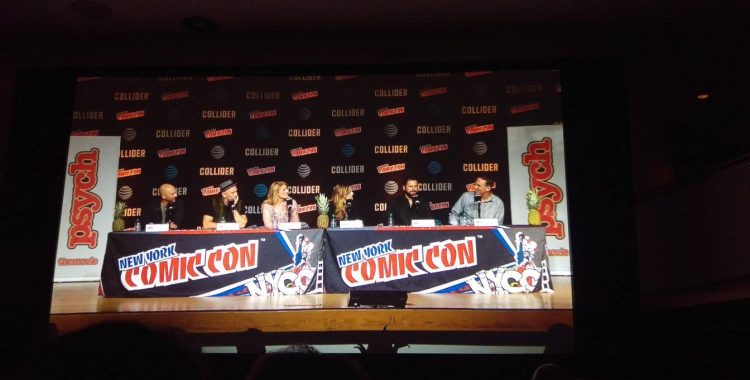 """NYCC 2017: Wait for iiiit """"Psych: The Movie"""" is coming this December & the cast dished on the details"""