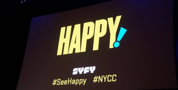 """NYCC 2017: Syfy Wants You to Get """"Happy!"""" with Their New Show Starring Christopher Meloni"""