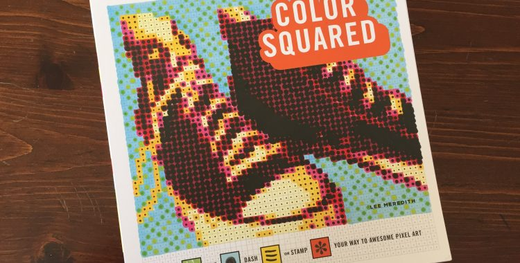 'Color Squared' Ups the Ante for Adult Coloring Books -- But May Be TOO Challenging