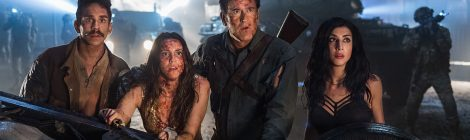 NYCC 2017: The Cast of Ash vs Evil Dead Discusses Season 3