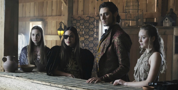 The Magicians Season 3 Episode 12 staring contest