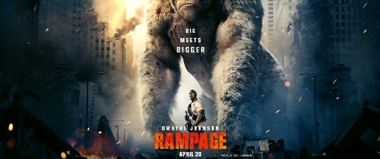 Rampage, A Man and His Ape